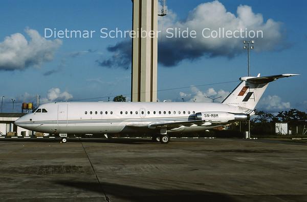 2001-10 5N-MBM BAC 1-11-401AK (c/n 068) Albarka Air
