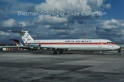 1986-05 YU-ANN BAC 1-11-492GM (c/n 260) Adria Airways