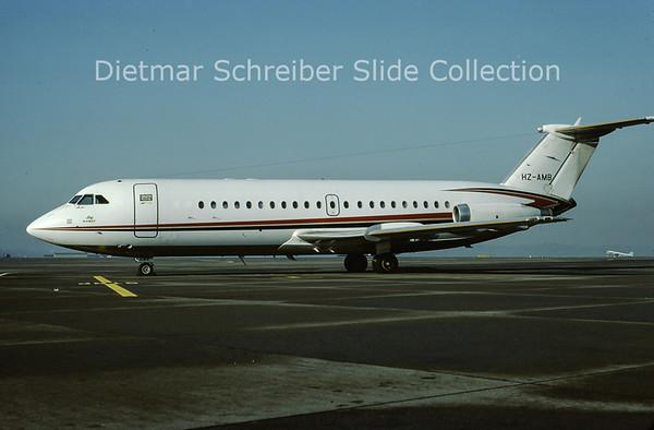 1979-12 HZ-AMB BAC 1-11-401AK (c/n 060) Sheikh Bin Laden