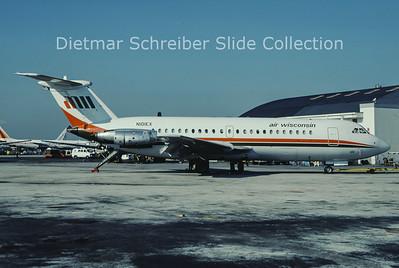 1985-05 N101EX BAC 1-11-488GH (c/n 259) Air Wisconsin