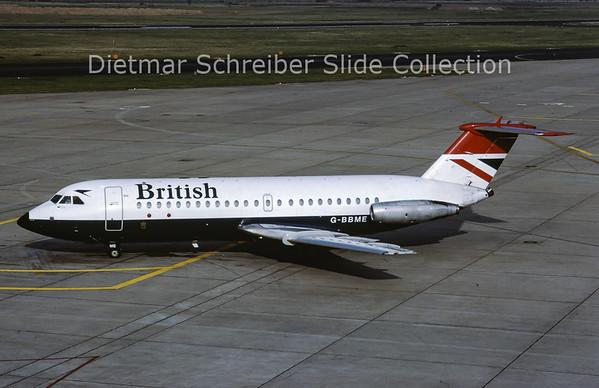 1983-02 G-BBME BAC 1-11-476FM (c/n 241) British Airways