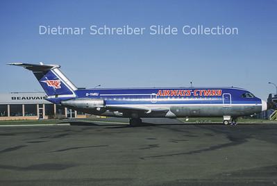 1985-02 G-YMRU BAC 1-11 Airways International Cymru