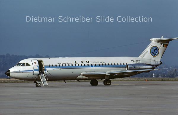 1978-10 YR-BCD BAC 1-11-424EU (c/n 156) LAR Romanian Airlines