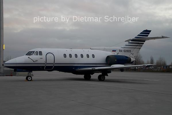 2006-12-25 RA-02803 Hawker 700