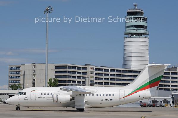 2012-06-08 LZ-HBC Bae146 Bulgaria AIr
