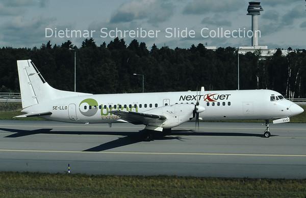 2009-07 SE-LLO British Aerospace ATP (c/n 2023) Nextjet