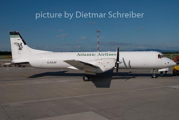 2009-07-09 G-OAAF Bae ATP Atlantic Airlines