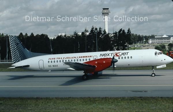 2009-07 SE-MAK British Aerospace ATP (c/n 2040) Nextjet