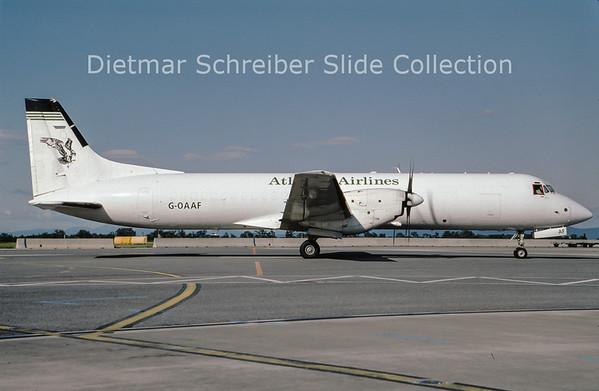 2009-07 G-OAAF British Aerospace ATP (c/n 2029) Atlantic Airlines