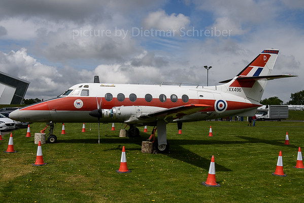 2017-05-01 XX496 Jetsream Royal Air Force
