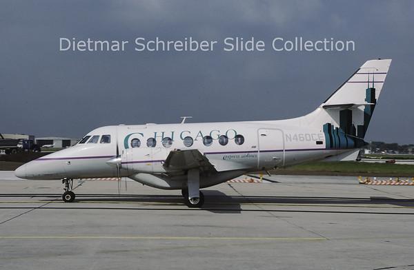 N460CE Bae Jetstream 31 (c/n 680) Chicago Express