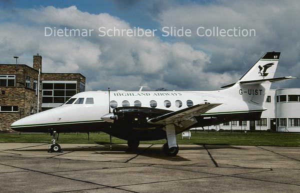 2009-04 G-UIST Bae Jetstream 31 (c/n 750) Highland Airways