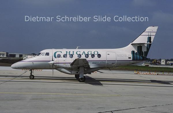 N828JS Bae Jetstream 31 (c/n 708) Chicago Express