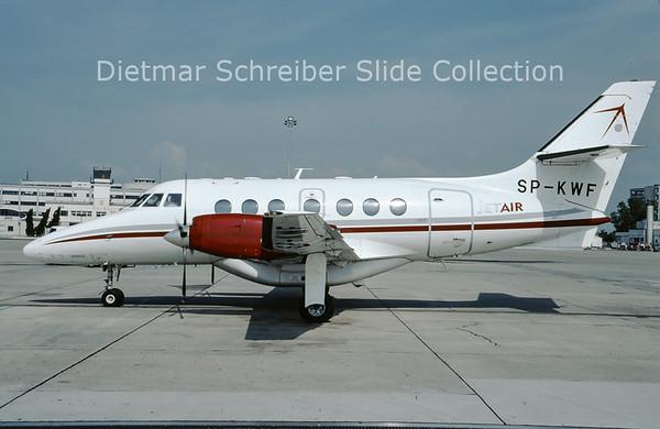 2009-10 SP-KWF Bae Jetstream 32 (c/n 845) Jetair