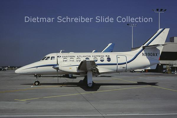 1985-05 N990AX Bae Jetstream 31 (c/n 643) Atlantis