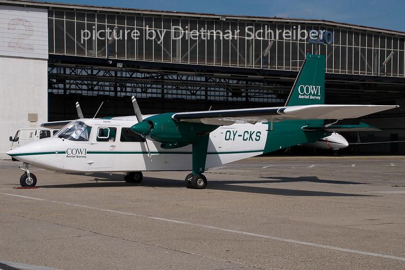 2008-08-25 OY-CKS BN2 Islander