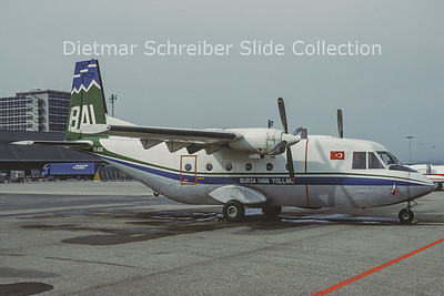 1979-03 TC-AOC CASA 212-100 (c/n 92) BHY Bursa Airlines