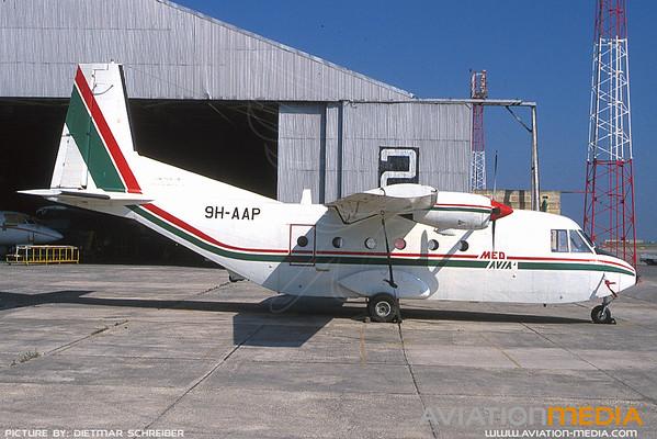 1991-07 9H-AAP CASA 212 Med Avia