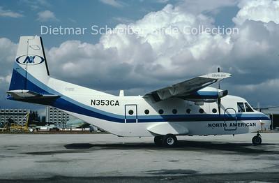 1982-03 N353CA CASA 212-200 (c/n 196) North American