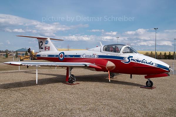 2007-04-27 114076 Canadair CT-114 Tudor Canadian Air Force