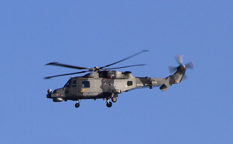 ZZ413 Royal Navy Lynx Wildcat AH1