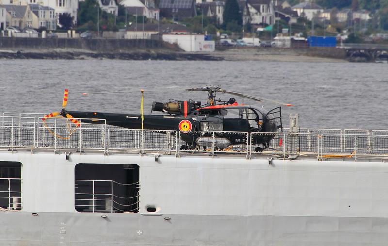 M-2 Belgian Navy Alouette III