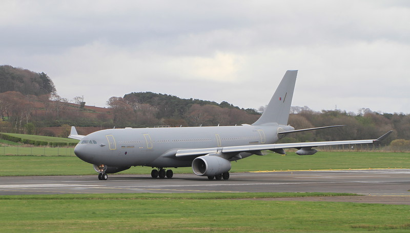 ZZ343 RAF Voyager KC3