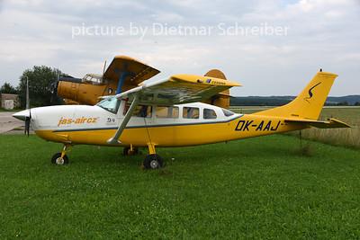 2014-08-07 OK-AAJ Cessna 207