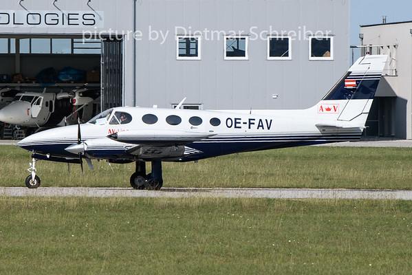 2020-09-18 OE-FAV Cessna 340