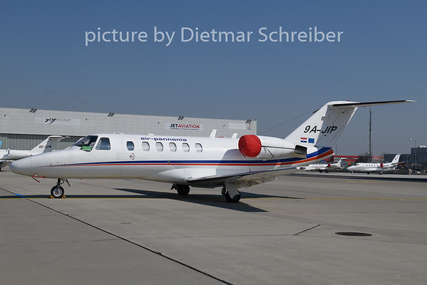 2020-03-24 9A-JIP Cessna 525 Air Pannonia