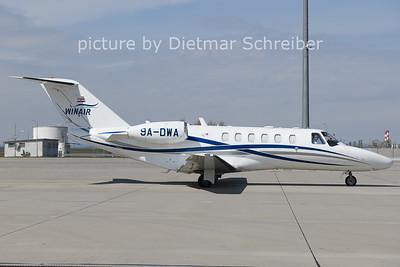 2021-04-12 9A-DWA Cessna 525A