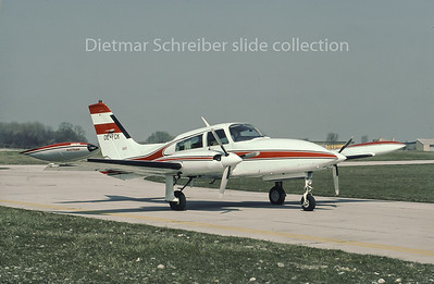 OE-FCK Cessna 310 Austrian Airlines
