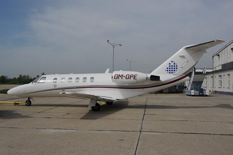 2013-04-29 OM-OPE Cessna 525A Citationjet 2 Opera Jet