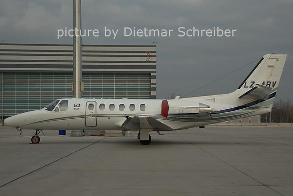 2006-12-22 LZ-ABV Cessna 550
