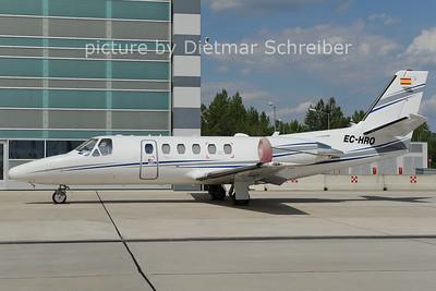 2012-08-09 EC-HRO Cessna 550