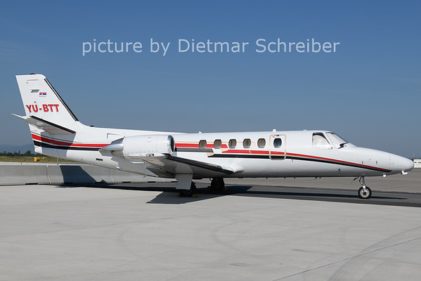 2021-06-18 YU-BTT Cessna 550