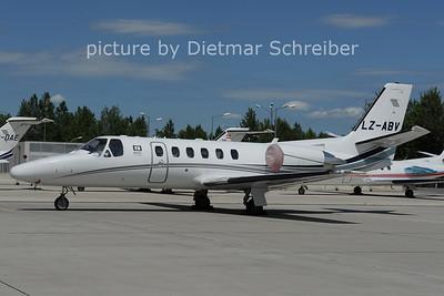 2012-06-08 LZ-ABV Cessna 550