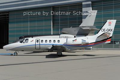 2012-08-24 OE-GKK Cessna 550
