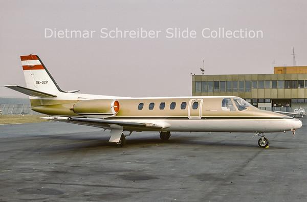 1984-03 OE-GCP Cessna 550 Citation 2 (c/n 550-0351)