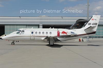 2012-08-09 OE-GRB CEssna 550 Flying Bulls