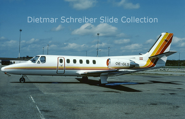 OE-GLS Cessna 550 Citation 2 (c/n 550-0270) Tyrolean Airways