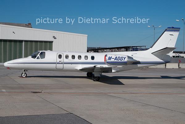 2011-03-24 M-AGGY Cessna 550