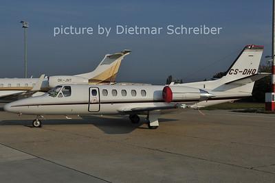 2011-10-05 CS-DHQ Cessna 550 Netjets