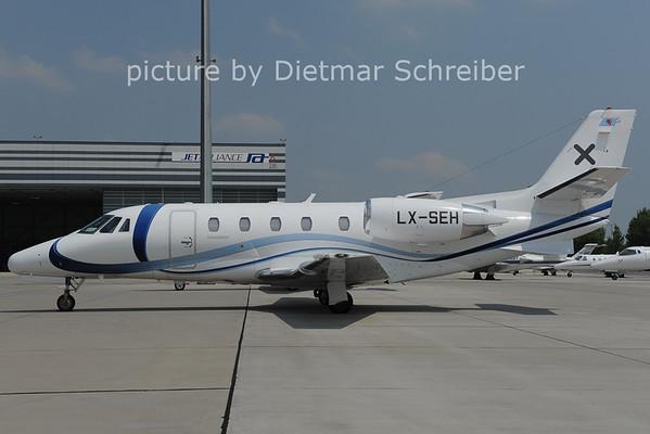 2012-06-19 LX-SEH Cessna 560XL