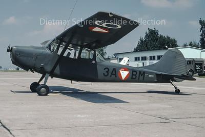 1985-08-13 3A-BM Cessna L19 Bird Dog Austrian Air Force