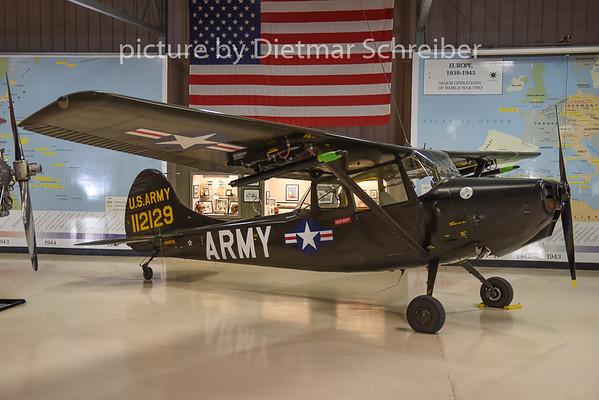 2015-02-12 N305TA (112129) Cessna L19 US Army