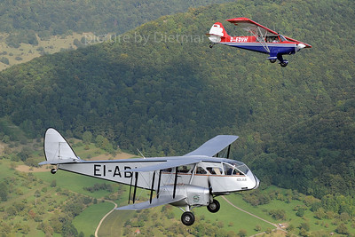 2013-09-06 EI-ABI DH89 Aer Lingus / D-EDVH Christen Husky