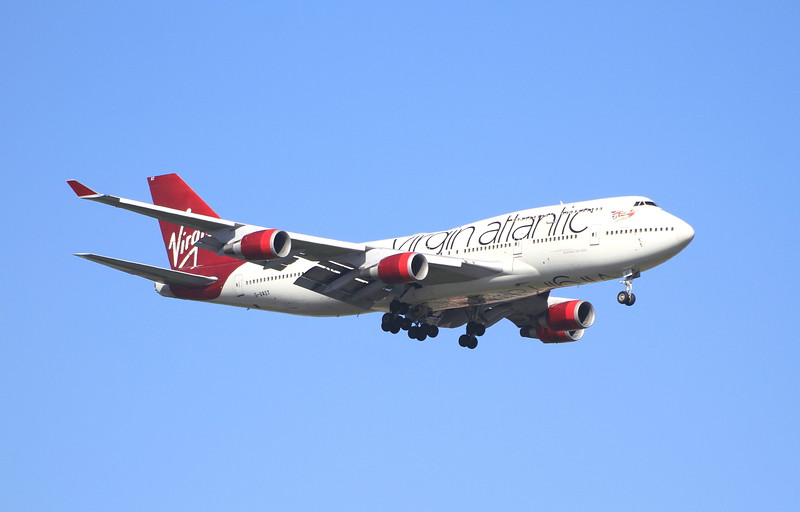 G-VAST Virgin Atlantic
