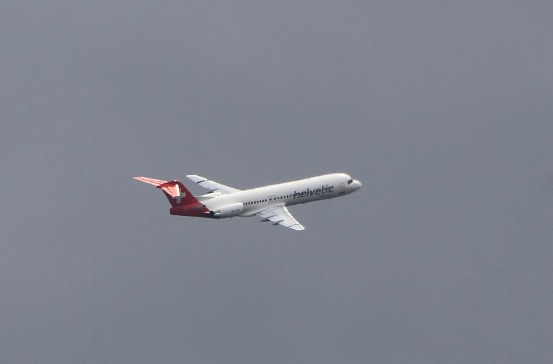 HB-JVE HELVETIC AIRLINES
