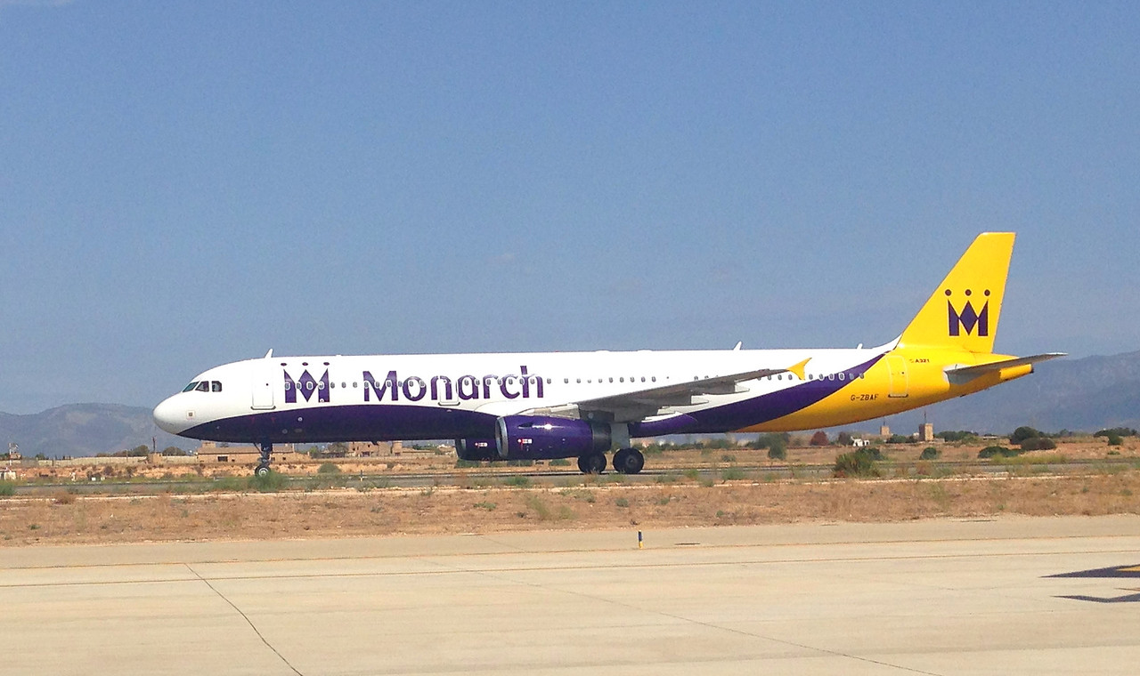 G-ZBAF Monarch Airlines